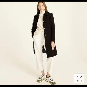 J. Crew Classic Lady Day Coat w/ Thinsulate 8 Tall